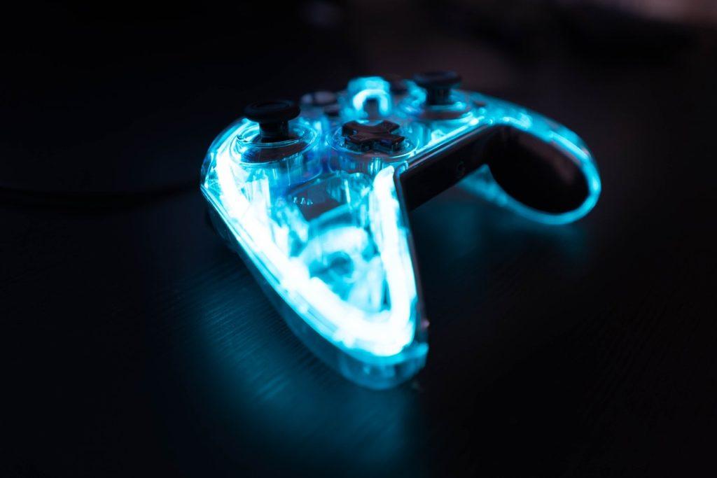 illuminated xbox controller