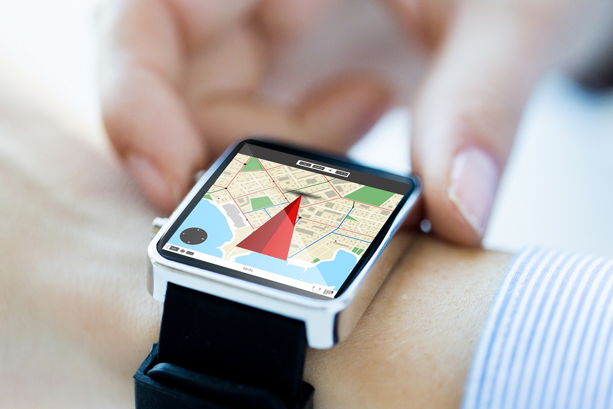 using a smart watch