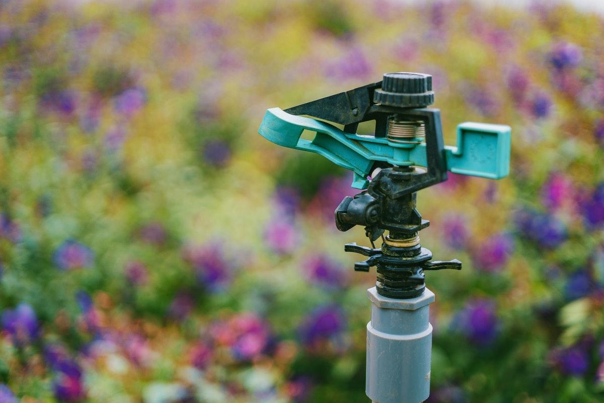 garden water sprinkler